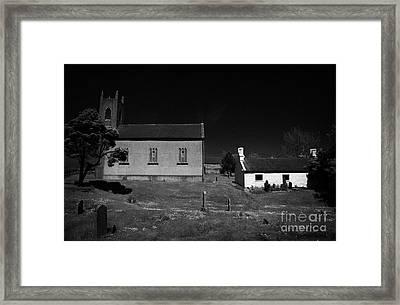 Bronte Homeland Interpretive Centre Drumballyroney Church County Down Ireland Framed Print by Joe Fox