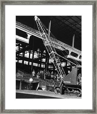 Brooklyn: Ebbets Field Framed Print by Granger