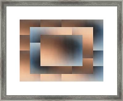 Brushed 01 Framed Print by Tim Allen