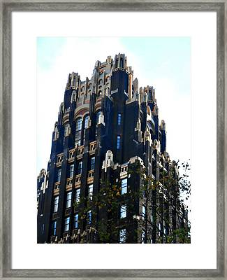 Bryant Park Hotel - Nyc Framed Print by Kimberly Perry
