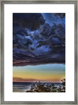Bubble Cloud Framed Print by Douglas Barnard
