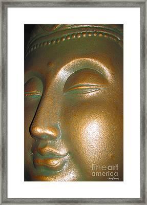 Buddha 25 Framed Print by Cheryl Young