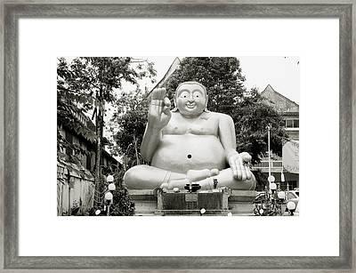 Buddha Framed Print by Shaun Higson