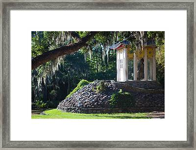 Buddhist Pagoda - Side Framed Print by Erik Hovind