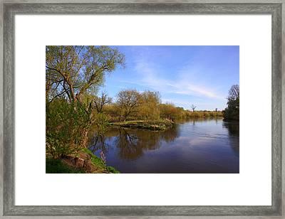 Bug River Framed Print by Igors Parhomciks