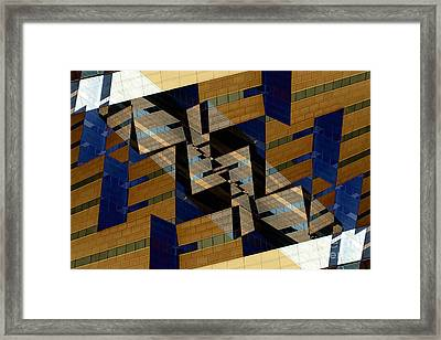 Building Deconnexion Framed Print by R Kyllo