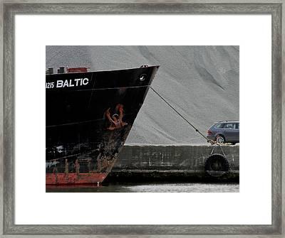 Bulk Framed Print by Odd Jeppesen