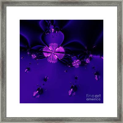 Bumble Beez . Square . S19 Framed Print by Wingsdomain Art and Photography