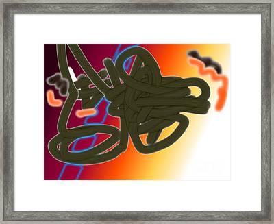 Bundled Transcendence Framed Print by Charlie Spear