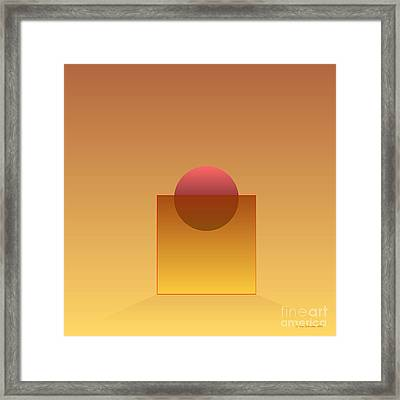Buoyancy  Framed Print by Ken Schneider