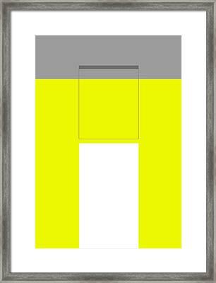 Burble Framed Print by Naxart Studio
