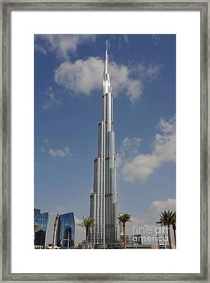 Burj Khalifa 2 Framed Print by Graham Taylor
