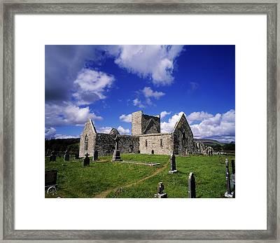 Burrishoole Friary, Co Mayo, Ireland Framed Print by The Irish Image Collection