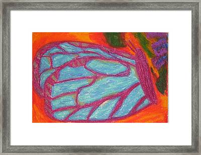 Butterfly Framed Print by Genoa Chanel