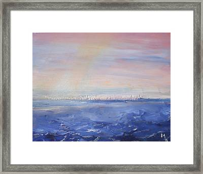 Butterfly Sails Framed Print by Michael Helfen