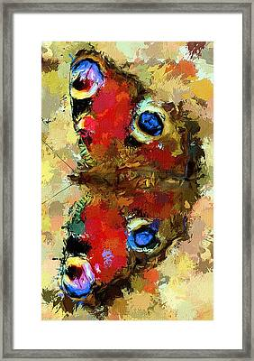 Butterfly Framed Print by Yury Malkov
