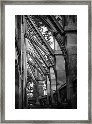Buttresses Framed Print by Jen Morrison