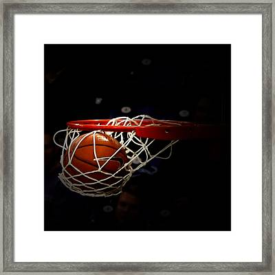 Buzzer Beater  Framed Print by Judge Howell