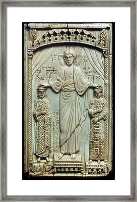 Byzantine Art Framed Print by Granger