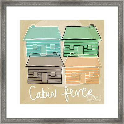 Cabin Fever Framed Print by Linda Woods