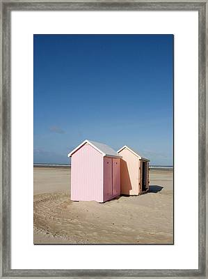 Cabines Framed Print by Cheminsnumeriques