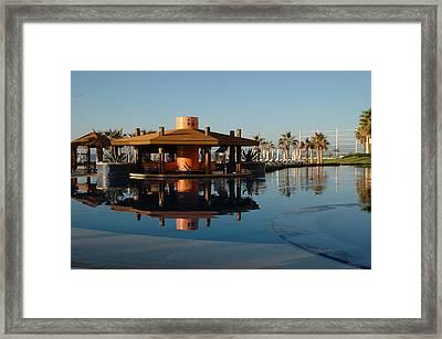 Cabo Reflection Framed Print by David Taylor