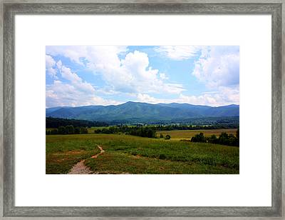 Cades Cove Framed Print by Susie Weaver