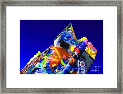 Cadillac Ranch 2 Framed Print by Bob Christopher