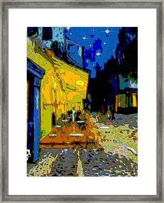 Cafe Vincent Framed Print by Jann Paxton