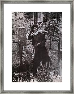 Calamity Jane Martha Jane Burke Framed Print by Everett
