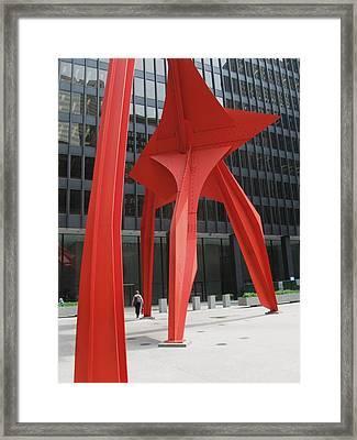 Calder-3 Framed Print by Todd Sherlock