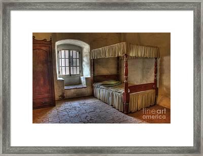 California Mission La Purisima Bedroom Framed Print by Bob Christopher