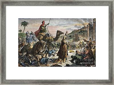 Caliph Umar Framed Print by Granger