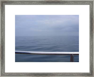Calm Framed Print by Tilly Williams