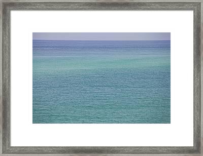 Calm Waters Framed Print by Toni Hopper
