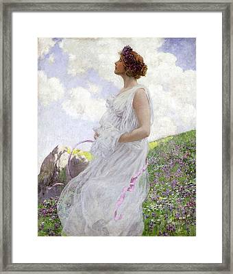 Calypso Framed Print by George Hitchcock
