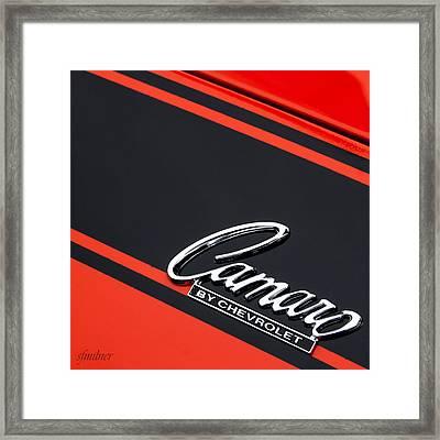 Camaro By Chevrolet Framed Print by Steven Milner