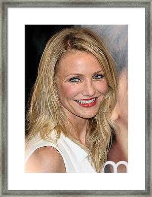 Cameron Diaz At Arrivals For My Sisters Framed Print by Everett