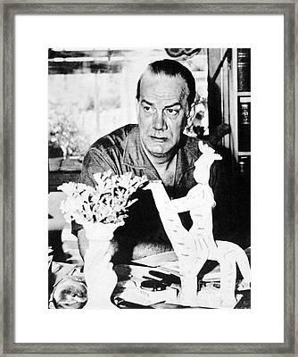 Camilo Cela (1916-2002) Framed Print by Granger
