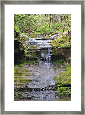 Camusfearna Gorge 1 Framed Print by Peter  McIntosh