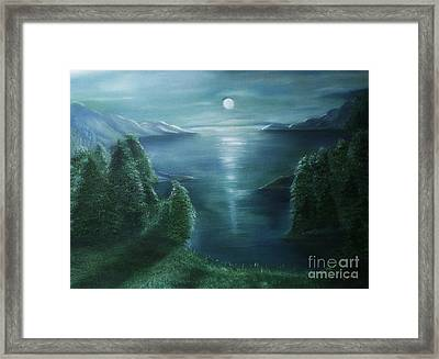 Can You See Her Framed Print by Liana Me Alyah