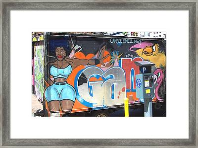 Can You Smell Me Framed Print by Steven Huszar