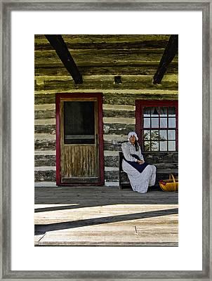 Canadian Gothic Framed Print by Steve Harrington