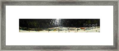 Canadian Poetry - Tribute To Neil Young Framed Print by Terry Thomas