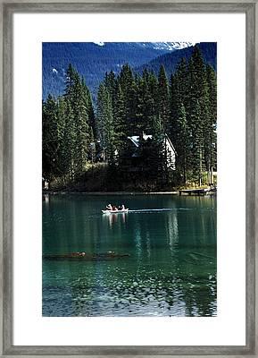 Canadian Rockies Framed Print by John Doornkamp