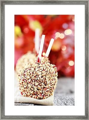 Candy Apples Framed Print by Stephanie Frey