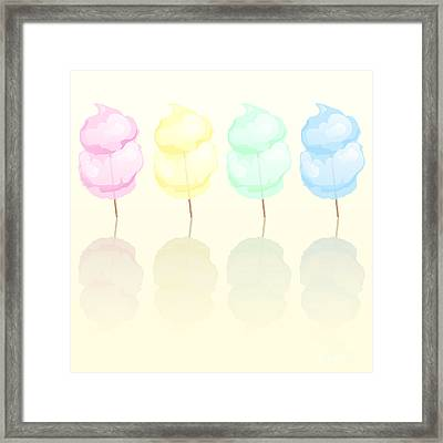 Candy Floss Framed Print by Jane Rix