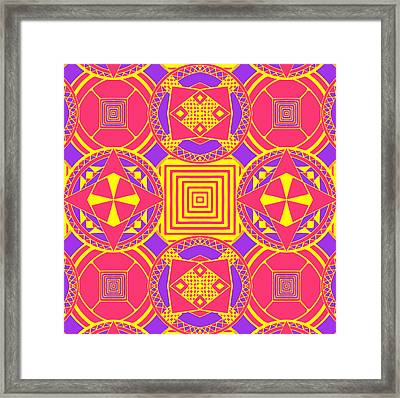 Candy Wrapper Framed Print by Sumit Mehndiratta