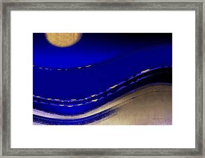 Cane Garden Bay Framed Print by Wally Boggus