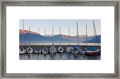Cannobio - Italy Framed Print by Joana Kruse